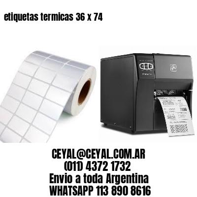 etiquetas termicas 36 x 74