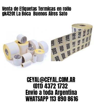 Venta de Etiquetas Termicas en rollo gk420t La Boca  Buenos Aires Sato