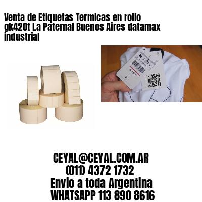 Venta de Etiquetas Termicas en rollo gk420t La Paternal Buenos Aires datamax industrial