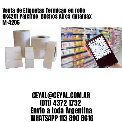 Venta de Etiquetas Termicas en rollo gk420t Palermo  Buenos Aires datamax  M-4206