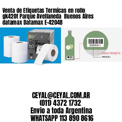 Venta de Etiquetas Termicas en rollo gk420t Parque Avellaneda  Buenos Aires datamax Datamax E-4204B