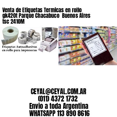 Venta de Etiquetas Termicas en rollo gk420t Parque Chacabuco  Buenos Aires tsc 2410M