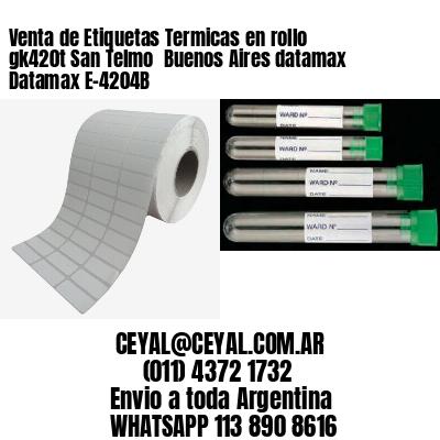 Venta de Etiquetas Termicas en rollo gk420t San Telmo  Buenos Aires datamax Datamax E-4204B