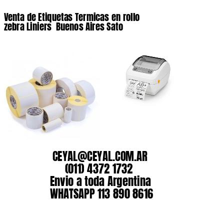 Venta de Etiquetas Termicas en rollo zebra Liniers  Buenos Aires Sato