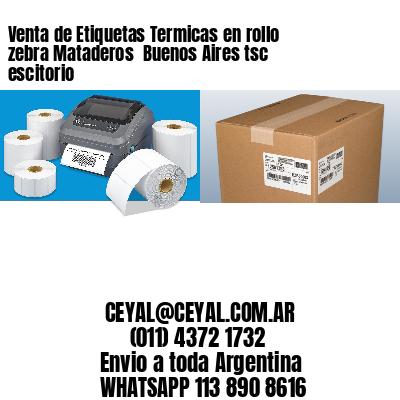 Venta de Etiquetas Termicas en rollo zebra Mataderos  Buenos Aires tsc escitorio