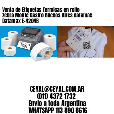 Venta de Etiquetas Termicas en rollo zebra Monte Castro Buenos Aires datamax Datamax E-4204B