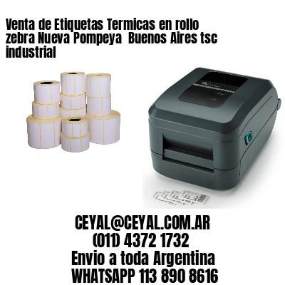 Venta de Etiquetas Termicas en rollo zebra Nueva Pompeya  Buenos Aires tsc industrial