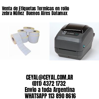 Venta de Etiquetas Termicas en rollo zebra Núñez  Buenos Aires Datamax