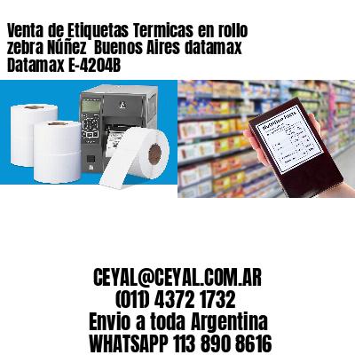 Venta de Etiquetas Termicas en rollo zebra Núñez  Buenos Aires datamax Datamax E-4204B