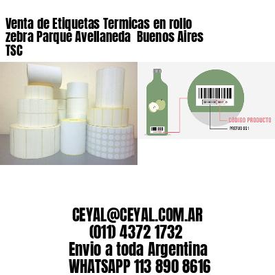 Venta de Etiquetas Termicas en rollo zebra Parque Avellaneda  Buenos Aires TSC