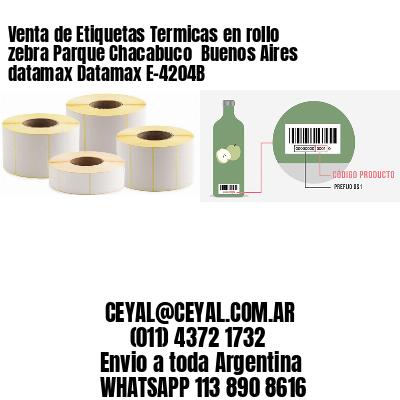 Venta de Etiquetas Termicas en rollo zebra Parque Chacabuco  Buenos Aires datamax Datamax E-4204B