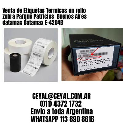 Venta de Etiquetas Termicas en rollo zebra Parque Patricios  Buenos Aires datamax Datamax E-4204B
