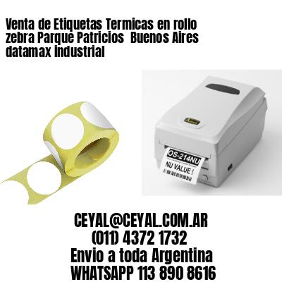Venta de Etiquetas Termicas en rollo zebra Parque Patricios  Buenos Aires datamax industrial