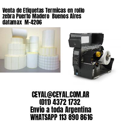 Venta de Etiquetas Termicas en rollo zebra Puerto Madero  Buenos Aires datamax  M-4206