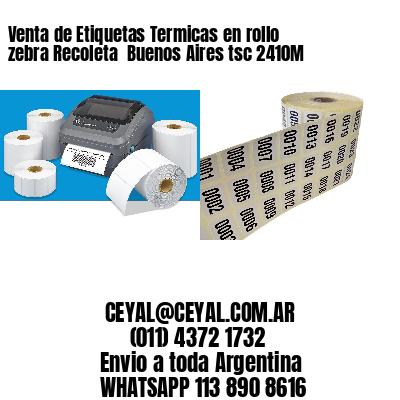 Venta de Etiquetas Termicas en rollo zebra Recoleta  Buenos Aires tsc 2410M