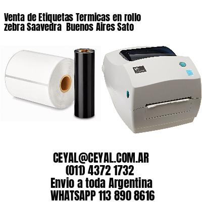 Venta de Etiquetas Termicas en rollo zebra Saavedra  Buenos Aires Sato