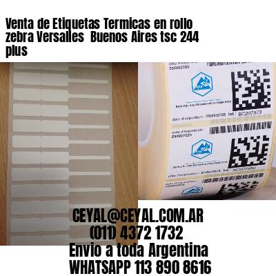 Venta de Etiquetas Termicas en rollo zebra Versalles  Buenos Aires tsc 244 plus