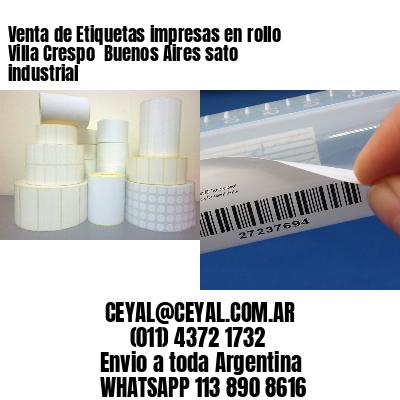 Venta de Etiquetas impresas en rollo Villa Crespo  Buenos Aires sato industrial