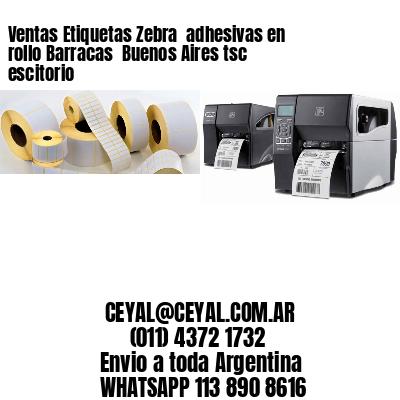 Ventas Etiquetas Zebra  adhesivas en rollo Barracas  Buenos Aires tsc escitorio
