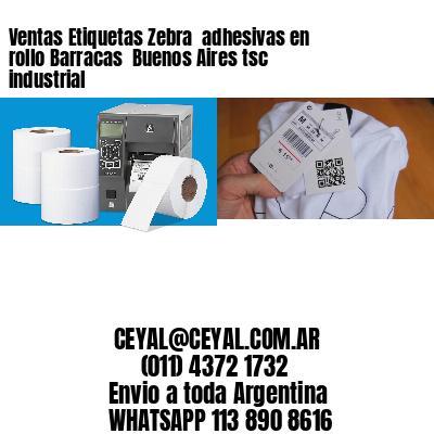 Ventas Etiquetas Zebra  adhesivas en rollo Barracas  Buenos Aires tsc industrial