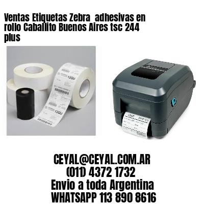 Ventas Etiquetas Zebra  adhesivas en rollo Caballito Buenos Aires tsc 244 plus