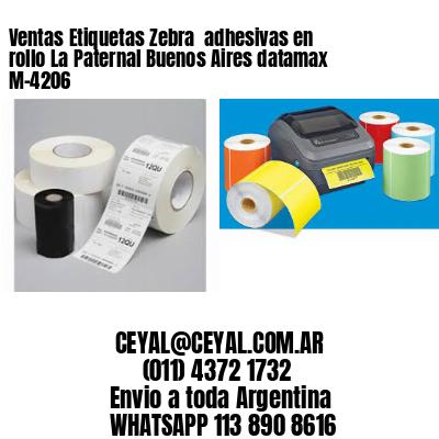 Ventas Etiquetas Zebra  adhesivas en rollo La Paternal Buenos Aires datamax  M-4206