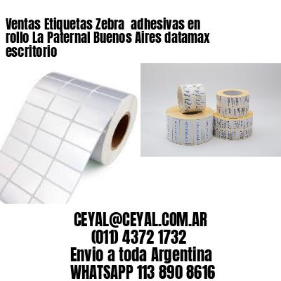 Ventas Etiquetas Zebra  adhesivas en rollo La Paternal Buenos Aires datamax escritorio
