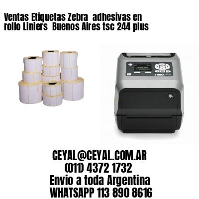 Ventas Etiquetas Zebra  adhesivas en rollo Liniers  Buenos Aires tsc 244 plus