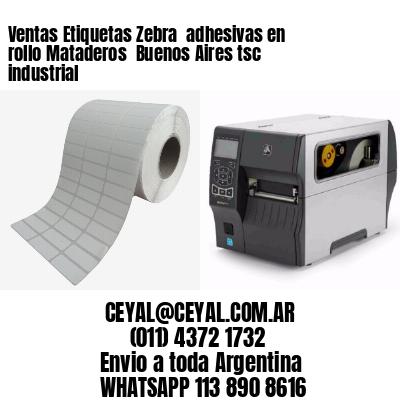 Ventas Etiquetas Zebra  adhesivas en rollo Mataderos  Buenos Aires tsc industrial