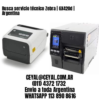 Busca servicio técnico Zebra   GX420d   Argentina
