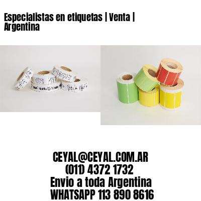 Especialistas en etiquetas   Venta   Argentina