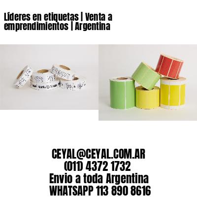 Líderes en etiquetas   Venta a emprendimientos   Argentina