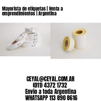 Mayorista de etiquetas   Venta a emprendimientos   Argentina