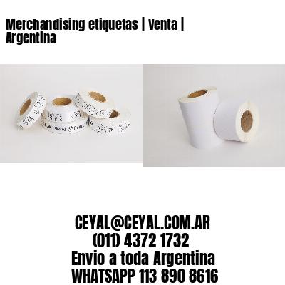 Merchandising etiquetas | Venta | Argentina