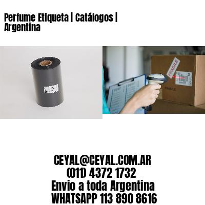 Perfume Etiqueta | Catálogos | Argentina