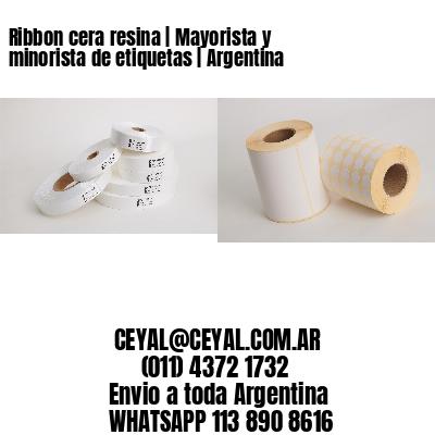 Ribbon cera resina   Mayorista y minorista de etiquetas   Argentina