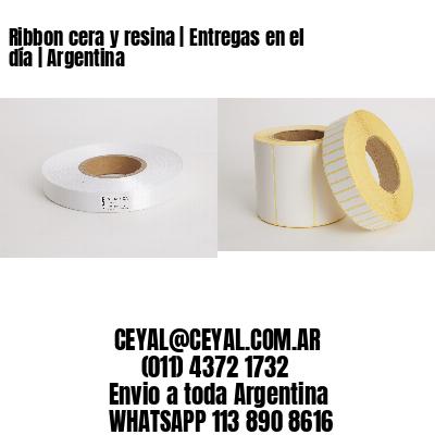 Ribbon cera y resina   Entregas en el día   Argentina