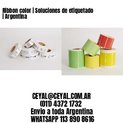 Ribbon color   Soluciones de etiquetado   Argentina
