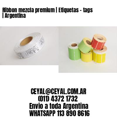 Ribbon mezcla premium | Etiquetas - tags | Argentina