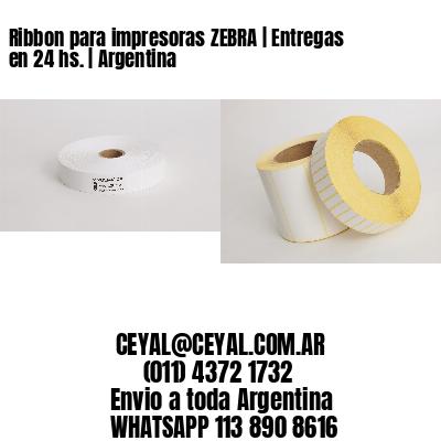 Ribbon para impresoras ZEBRA   Entregas en 24 hs.   Argentina