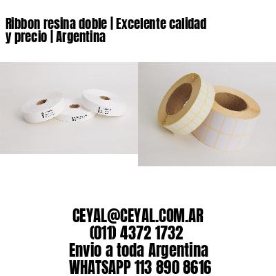 Ribbon resina doble | Excelente calidad y precio | Argentina