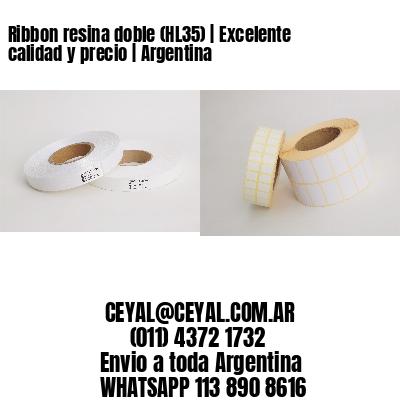 Ribbon resina doble (HL35)   Excelente calidad y precio   Argentina