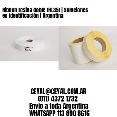 Ribbon resina doble (HL35) | Soluciones en identificación | Argentina