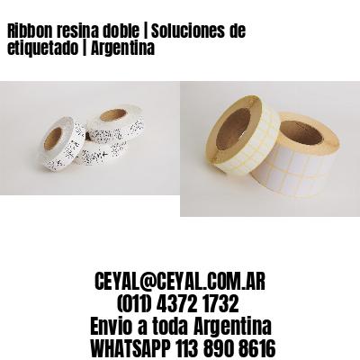 Ribbon resina doble | Soluciones de etiquetado | Argentina