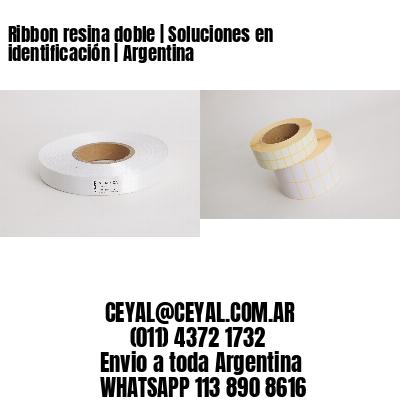 Ribbon resina doble | Soluciones en identificación | Argentina