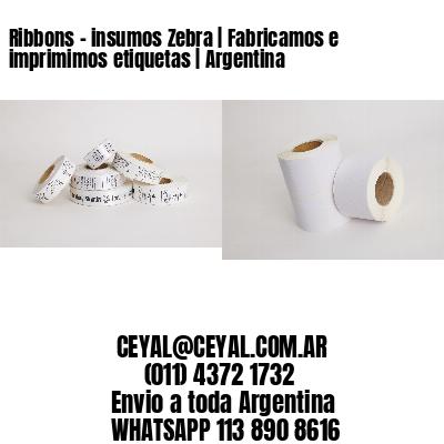 Ribbons - insumos Zebra | Fabricamos e imprimimos etiquetas | Argentina