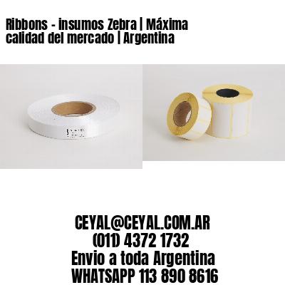 Ribbons - insumos Zebra   Máxima calidad del mercado   Argentina