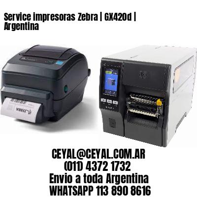 Service impresoras Zebra   GX420d   Argentina