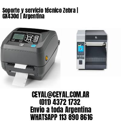 Soporte y servicio técnico Zebra   GX430d   Argentina