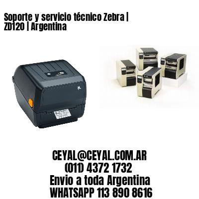 Soporte y servicio técnico Zebra   ZD120   Argentina